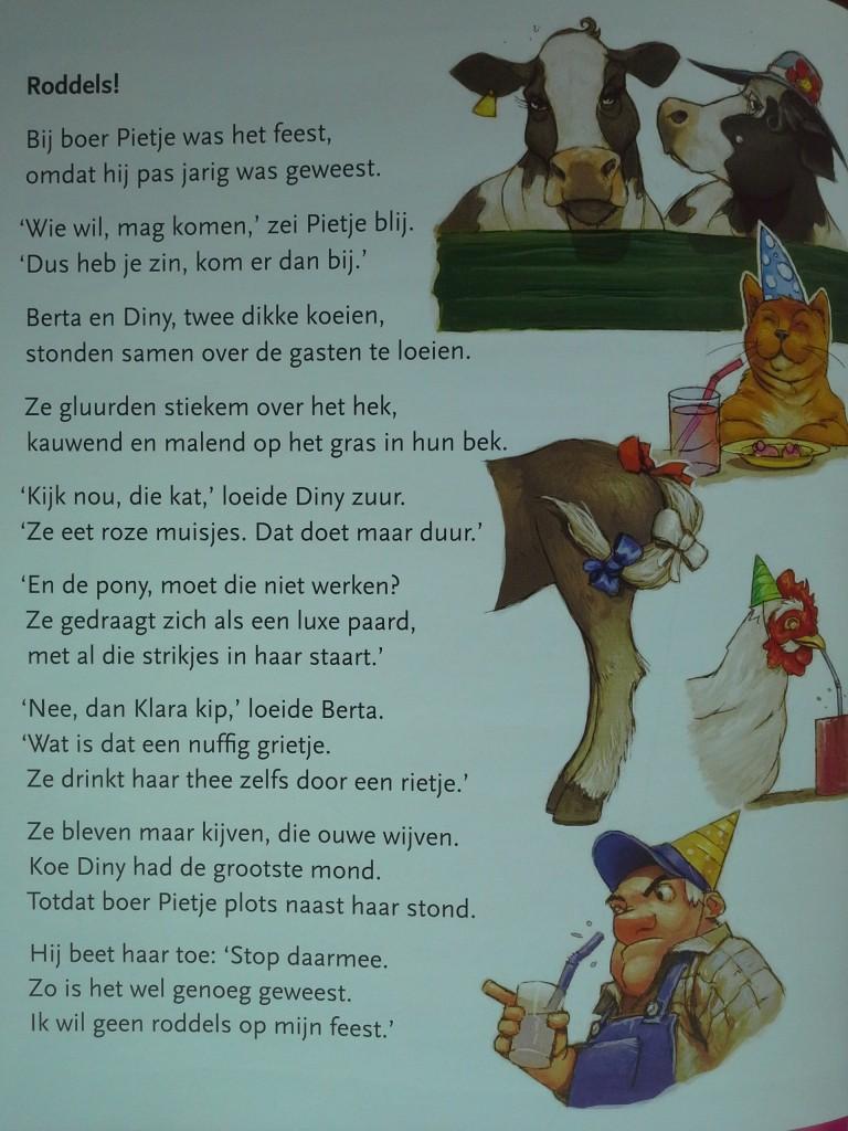 Gedichtje in leesmethode AVI M4