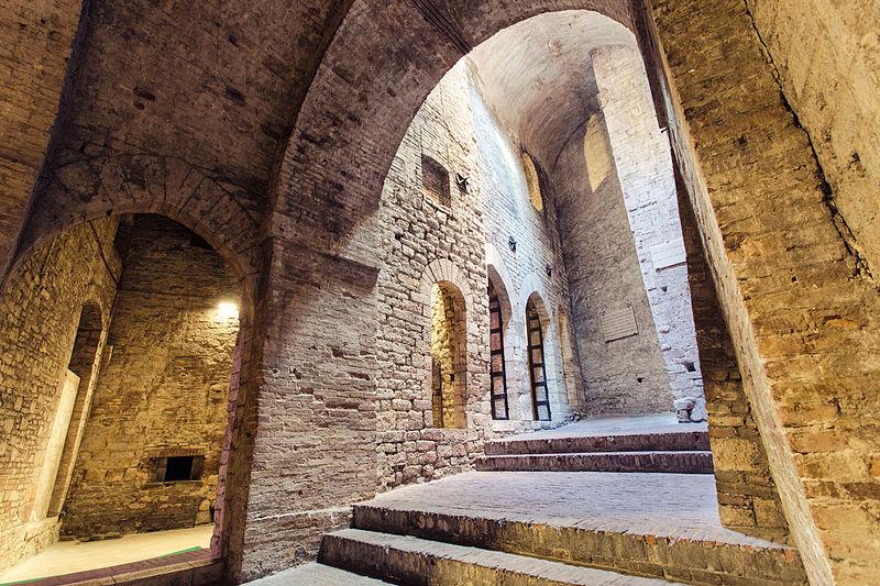 Rocca Paolina Perugia - Vakantie in Umbrië